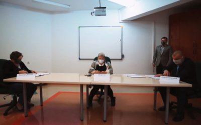 podpisanIE umowY na wybudowanie Domu Pomocy Społecznej przy ul. Kresowej 24.