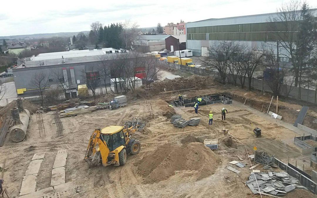 Zdjęcia z placu budowy