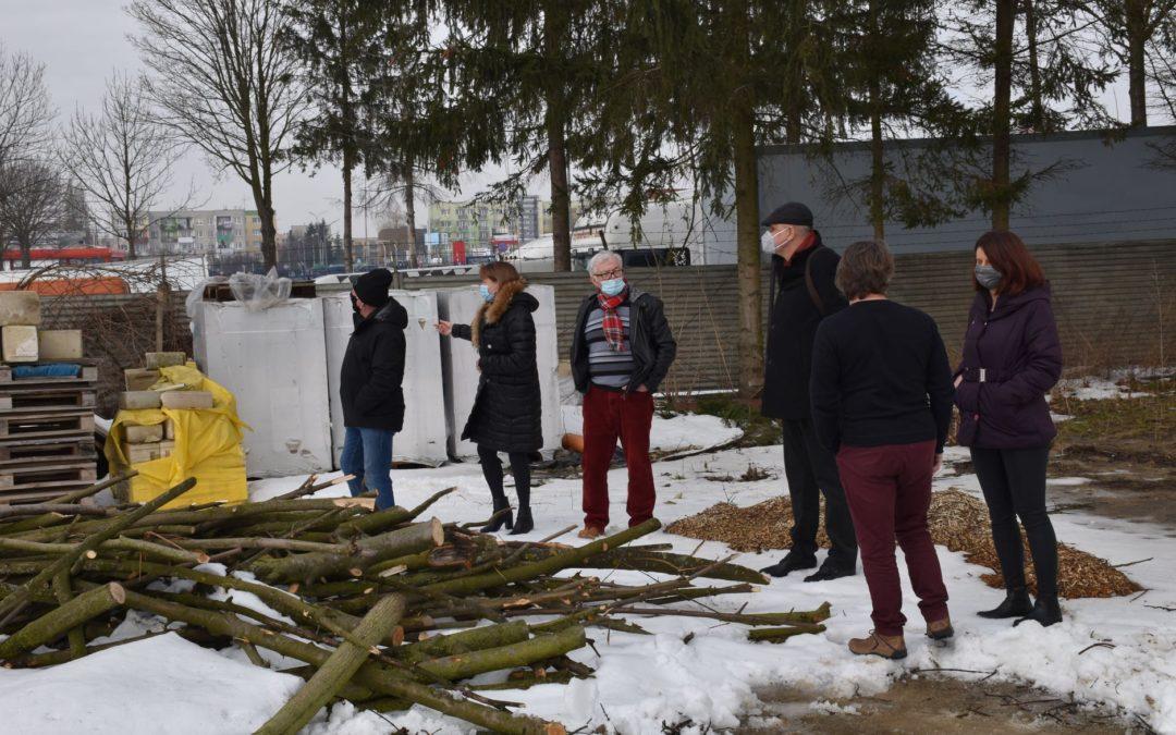 Przekazanie placu budowy  firmie Lidertech z Chełma